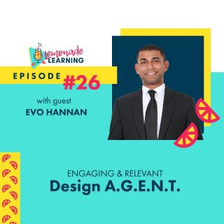 Culture Change Agent @EvoHannan shares his philosophy of agency and how every educator can be an A.G.E.N.T. for Agency on this batch of @LemonadeLearning, Relevant & Engaging: Design A.G.E.N.T. ⠀ ⠀ ▶️ Thinking about Generation Z, what need or sensitivity has brought a change in your teaching style? Has that change made your content more relevant or engaging?⠀ ⠀ Drop your thoughts in the comments 🔽 for some 🍋SWEET🍋 swag.⠀