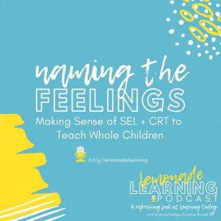 "Please join us for the latest episode of Lemonade Learning! ""Making Sense of SEL + CRT to Teach Whole Children"" 🍋➡️ bit.ly/lemonadelearning⁣  We live in the age of ubiquitous information, and right now at least, it seems that we're witnessing, experiencing, and processing unprecedented amounts of highly charged events and emotions.  How can we help our children make sense of things when we aren't even sure ourselves? What are appropriate response mechanisms and outlets? How can we keep our eyes on the proverbial prize when the promise of it keeps moving further away?  As parents, we know our kids look to us -- for comfort, for safety, for hope. As educators, our kids look to us for structure, for answers. In this episode, we discuss the importance of modeling mindfulness and prioritizing social-emotional health. We acknowledge that emotions are integral to our human experience, drive our mindset and mindstate, and are crucial to learner-centered environments.  FB: Lemonade Learning⁣ ⁣@bhodgesedu ⁣@LainieRowell #LemonadeLearning⁣"