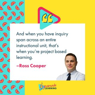 Thursday's episode is FULL of sweet notes just like this one from @rosscoops31   #pbl #projectbasedlearning #learnersareleaders #podcast