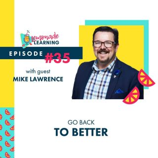 🍋New Episode🍋  Mike Lawrence @techmaverick joins @lemonadelearning ✨LIVE✨ from Austin, TX with @lainierowell & @bhodgesedu from #dlac2021  Mike combines his expertise in the blended and online space with his excitement for elevating learning experiences and throws in a twist of parent to a Class of '21 Senior and spouse to a public teacher juggling Roomers & Zoomers, offering us a fresh batch of hope and reason to ✨GO BACK TO BETTER✨ 🎧#35  📲 in bio (lemonadelearning.us)