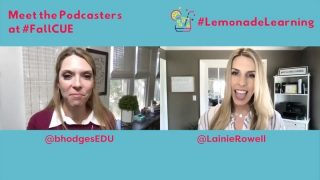 Y'all, @bhodgesEDU and I are so excited about this! Sunday at 2pm Pacific! Plus, there will be #LemonadeLearning stickers! 🎉 🎧➡️ lemonadelearning.us   #WeAreCUE #fallcue #edchat #edtech #K12 #WeLeadEd #educhat #teachershelpingteachers