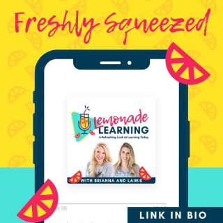 Episode 40 is LIVE today! Be sure to click the link in our bio and give it a listen! We are so grateful to get to enjoy a glass of lemonade learning with @rosscoops31 and @psumurphette !  Drop a comment ⬇️ and tell us your sweetest 🍋 takeaways from this episode!   #edupodcast #podcasters #EDUleaders #leadersarelearners #projectbasedlearning