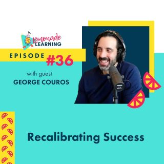 """This deluxe episode brings you THE George Couros! Educator, speaker, blogger, author of """"The Innovator's Mindset"""" and """"Innovate Inside the Box"""" as well as co-owner of IMPress Books, not to mention all-around great guy, George has been on our guest-wishlist since this podcast started. No surprise, we had a lot to talk about! With authenticity and vulnerability, George reveals his professional and personal goals and the habits that get him where he wants to be. Plus a teaser at the end about his upcoming book, Because of a Teacher."""
